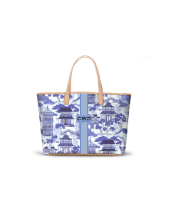 Caitlin Wilson St. Anne Tote - Canton Toile