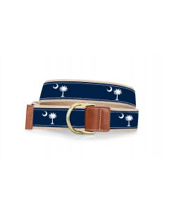 Barrington D-Ring Belt - Palmetto