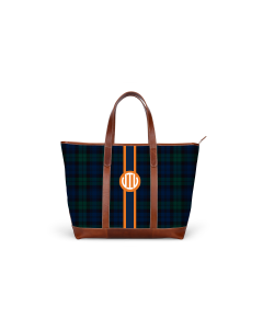 St. Charles Zippered Yacht Tote - GAMEDAY