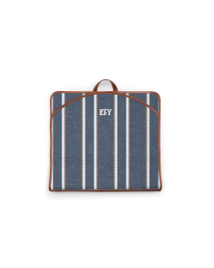 Gatwick Garment Bag - Monogram Stripe