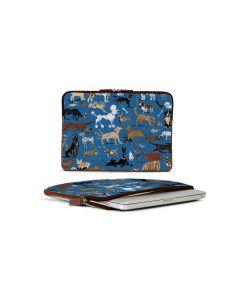 Buchanan 13'' Laptop Case - DRAWBERTSON Leather Patch