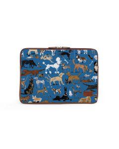 Buchanan 15'' Laptop Case - DRAWBERTSON Leather Patch