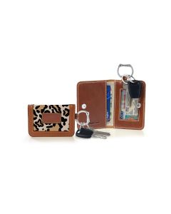 Kent Keyring Wallet - Leather Patch
