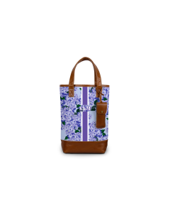 Westport Wine Tote - Monogram Stripe