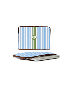 Buchanan 13'' Laptop Case - Monogram Stripe