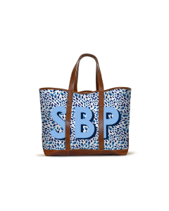 St. Charles Yacht Tote - Navy Fireworks
