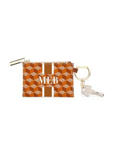 Kennedy Key Ring Zip Wallet - GAMEDAY