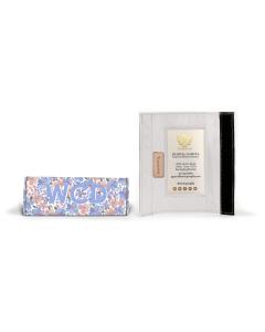 Baggage Handle Wrap - Caitlin Wilson Monogram Stripe