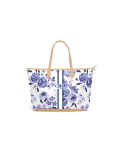 Caitlin Wilson St. Anne Zippered Tote - Highland Floral