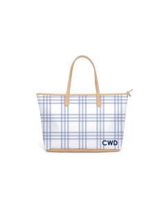 Caitlin Wilson St. Anne Diaper Bag - Grande Plaid in Eventide