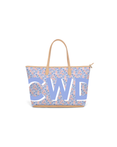Caitlin Wilson St. Anne Zippered Tote - Posy Petal