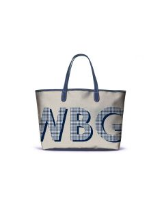 St. Anne Tote - Patterned Monogram