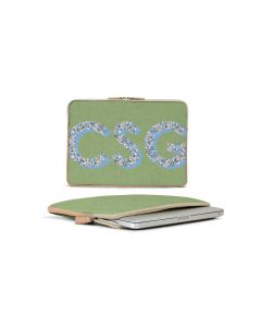 Buchanan 13'' Laptop Case - Patterned Monogram