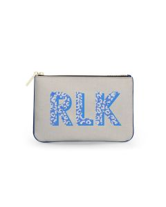 Everyday Essentials Pouch - Patterned Monogram