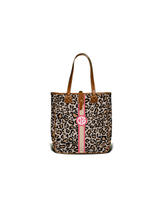 Nantucket Tote - Monogram Stripe