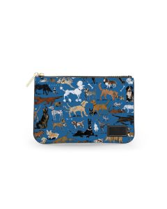 Everyday Essentials Pouch - DRAWBERTSON Leather Patch