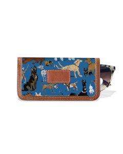 Eyeglass Case - DRAWBERTSON Leather Patch