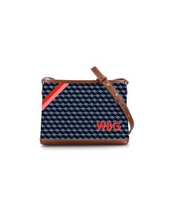 Norfolk Crossbody - Monogram Stripe
