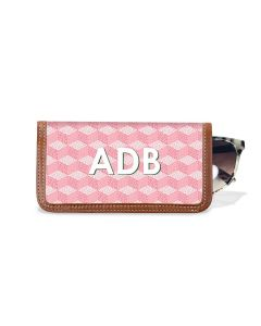 Eyeglass Case - Monogram Stripe