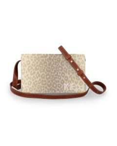 Catherine Crossbody - Monogram Stripe