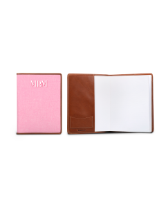 Noteworthy Book Jacket - Monogram Stripe