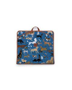 Gatwick Garment Bag - DRAWBERTSON Leather Patch