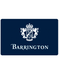 Barrington Gift Certificate front view