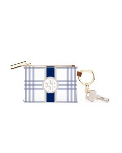 Kennedy Key Ring Zip Wallet