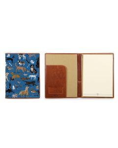 Legal Pad Portfolio - DRAWBERTSON Leather Patch