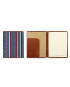 Legal Pad Portfolio - Leather Patch