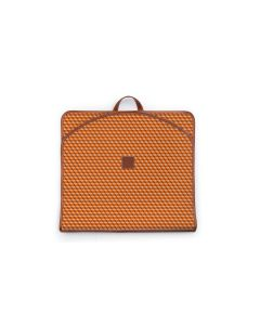 Gatwick Garment Bag - Leather Patch