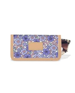 Eyeglass Case - Leather Patch