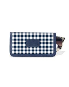 Eyeglass Case - Leather Patch