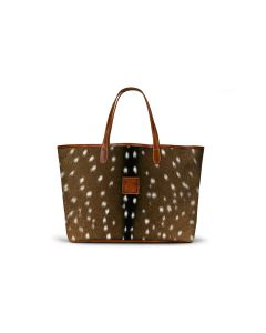 St. Anne Tote - Leather Patch