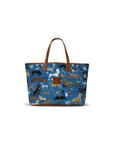 St. Anne Tote - DRAWBERTSON Leather Patch