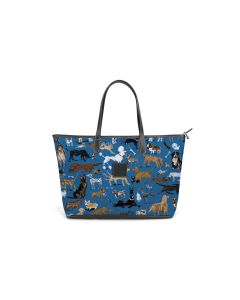 St. Anne Zippered Tote - DRAWBERTSON Leather Patch