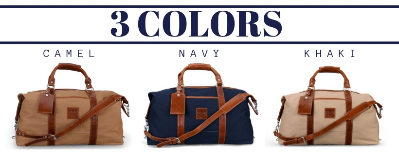 Men's Canvas Captain's Bag