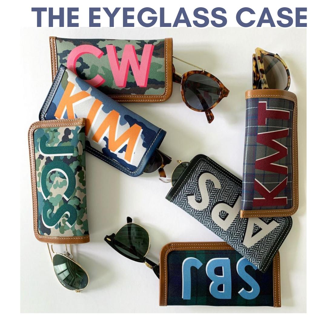 Eyeglass Cases- giant monogram