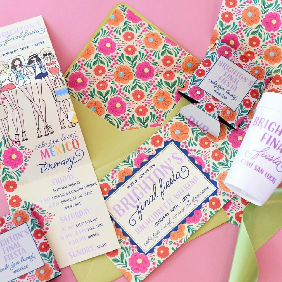 Sweet Caroline Designs invites