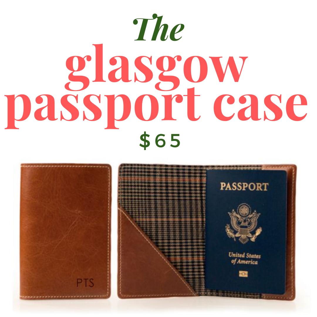 Glasgow Passport case