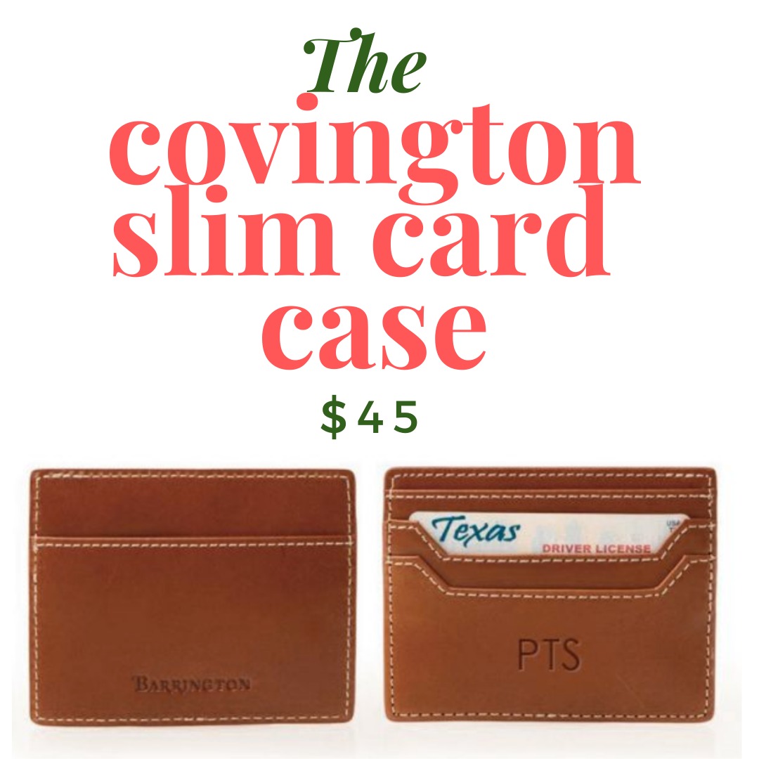 Covington Slim Card Case