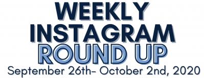 Instagram Round Up 9/26-10/2